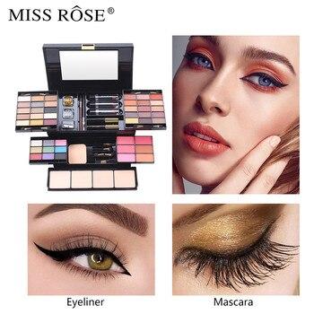 Maquillaje de ojos de 39 colores purpurina de perlas mate brillo de paleta purpurina polvo sombra cosmética pincel maquillaje juego de sellos pigmento