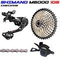 SHIMAN0 M6000 SRAM Groupset NX 1x11 10 s GX 170 172,5 175 milímetros Kit fahrrad Mountainbike Groupset MTB übertragung Fahrrad teile