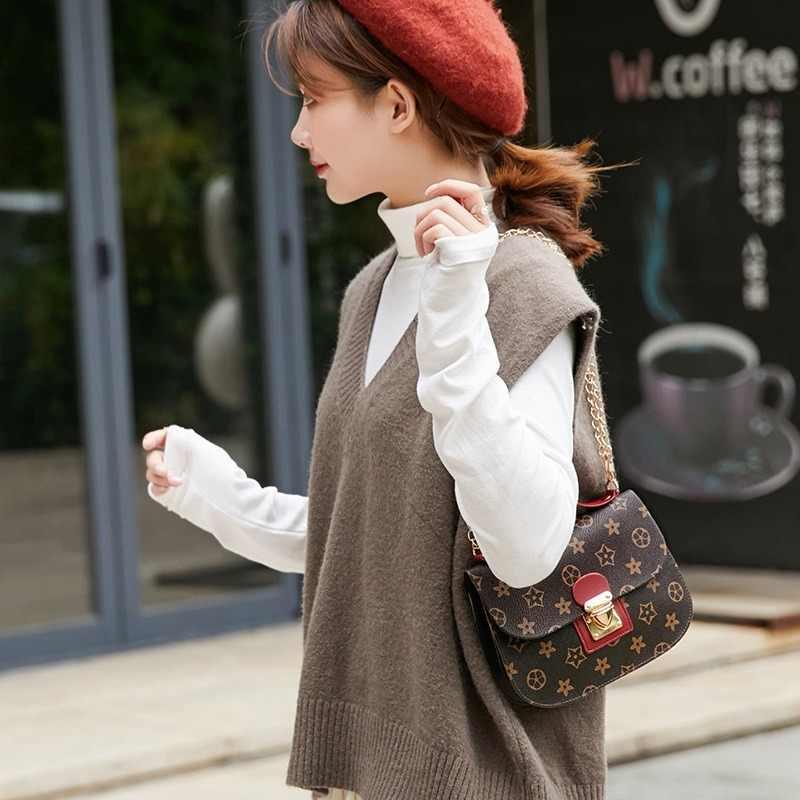 Bolsas de impressão feminina 2019 tendência da moda feminina ombro mensageiro saco mini feminino crossbody sacos do telefone móvel pacote bolsa