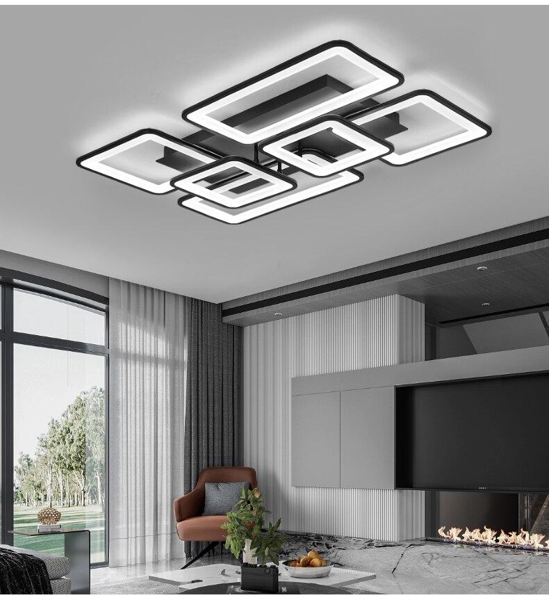 lustre para sala estar quarto cozinha com controle remoto luminárias