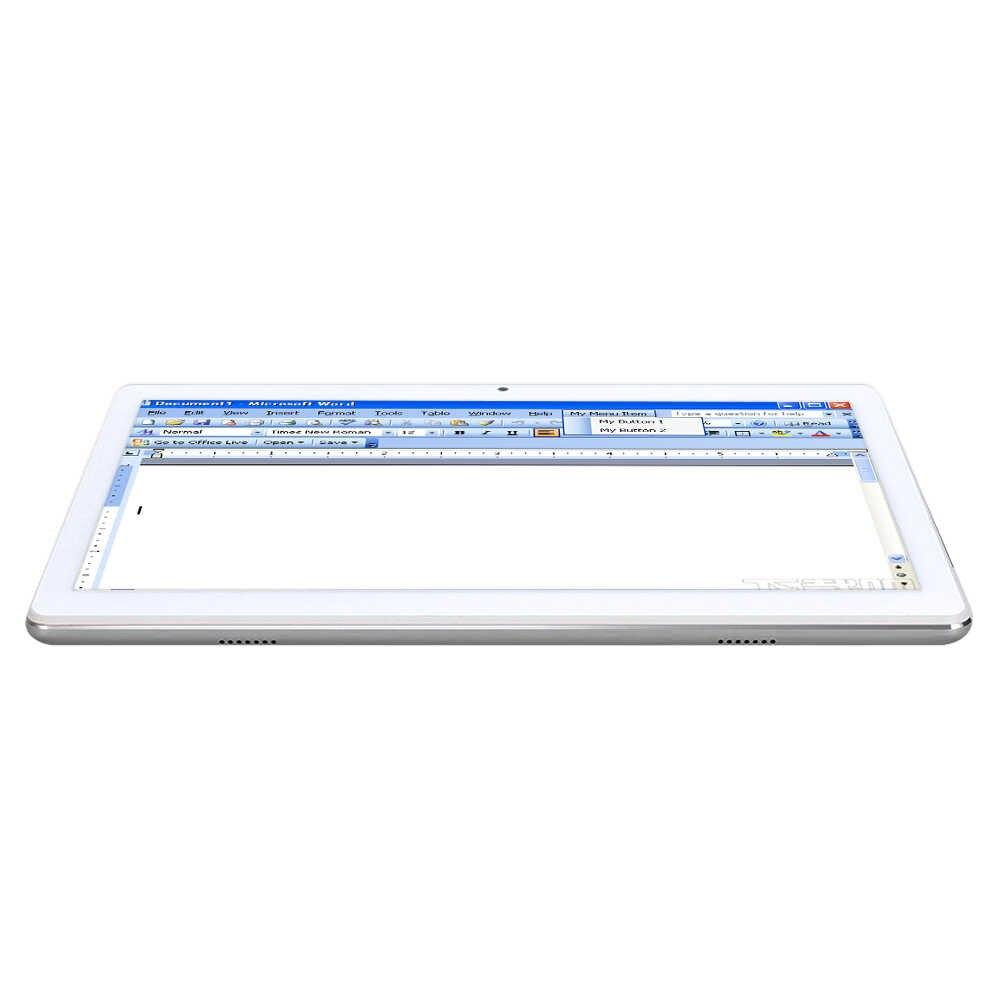 ANRY 10,1 pulgadas 4G LTE teléfono tableta Android llamada tabletas PC Deca Core 1920*1200 FHD IPS 4GB RAM 64GB ROM Bluetooth GPS MTK6797
