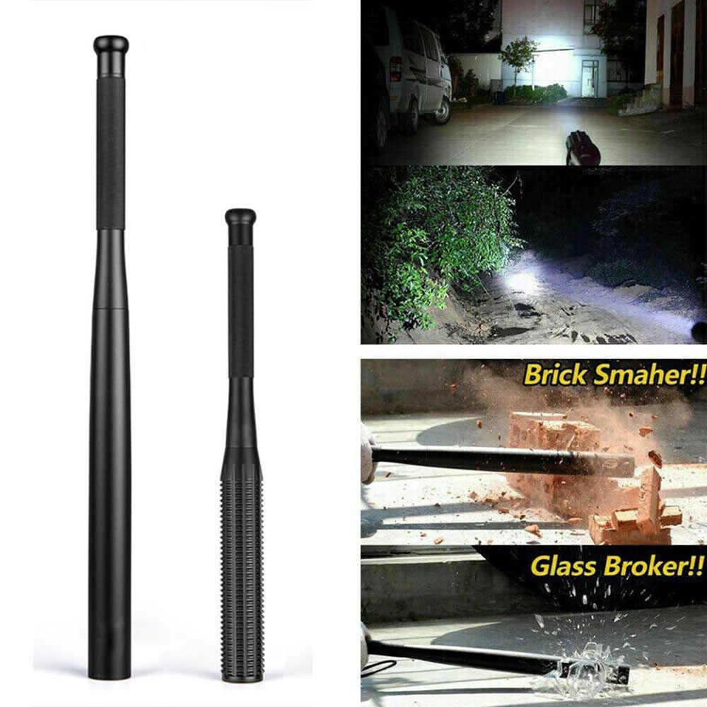 Baseball Bat LED Taschenlampe AA batterie/USB Aufladbare Taktische Taschenlampe Super Helle Taschenlampe für Notfall und Selbstverteidigung