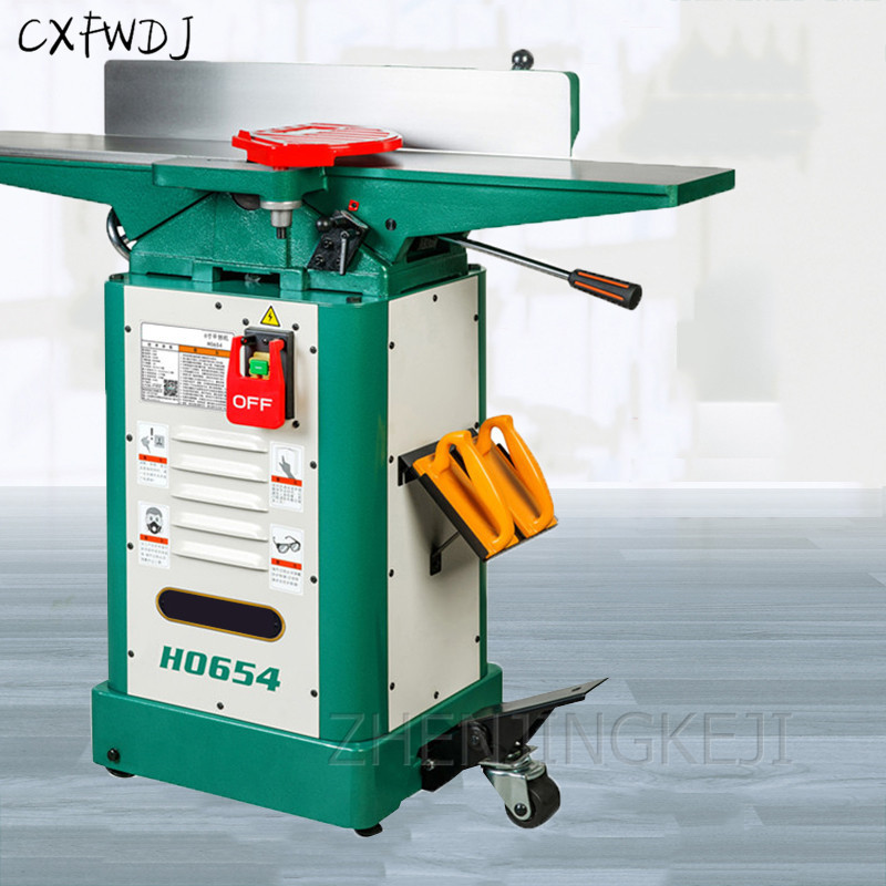 Planer Woodworking Workbench Planing Cutting Machine 6 Inches Planing H0654 Planer Electric Multifunction Desktop Planer