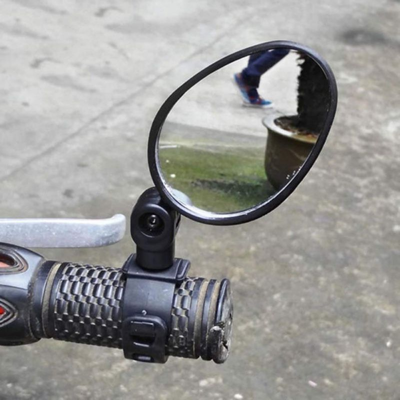 Universal Handlebar Rearview Mirror 360 Degree Rotate Bike MTB Cycling Bicycle Accessories