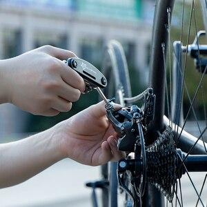 Image 4 - ROCKBROS 16 in 1 Fahrrad Werkzeuge Sets Mountainbike Fahrrad Multi Repair Tool Kit Hex Speichen Schlüssel Berg Zyklus Schraubendreher werkzeug