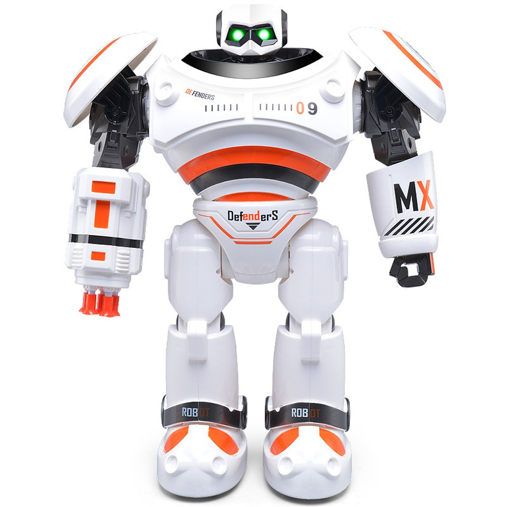 SHAREFUNBAY AD Police Files Programmable Combat Robot and Intelligent RC Defender for Kids 5