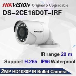 Hikvision DS-2CE16D0T-IRF CVBS/AHD/TVI/CVI 2MP HD1080P IR Bullet Camera 20m IR Distance IP66 weatherproof Turbo HD Camera