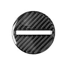 Углеродное волокно центр рулевого колеса панель накладка для Chevrolet Camaro 17-19