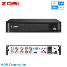 ZOSI 4 In 1 CCTV DVR 8CH Security DVR H.264 720P Digital Video Recorder HDMI Video Output Support iPhone Android Phone new cctv dvr 8 channel full d1 real time recording support network mobile phone cctv dvr recorder 8ch h 264 dvr security system