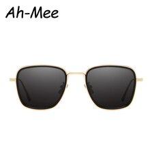 New Square Big Frame Sunglasses Men Metal Sun Glasses for Wo