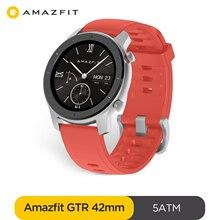 Умные часы Amazfit GTR, 42 мм, 5 АТМ, 12 дней без подзарядки