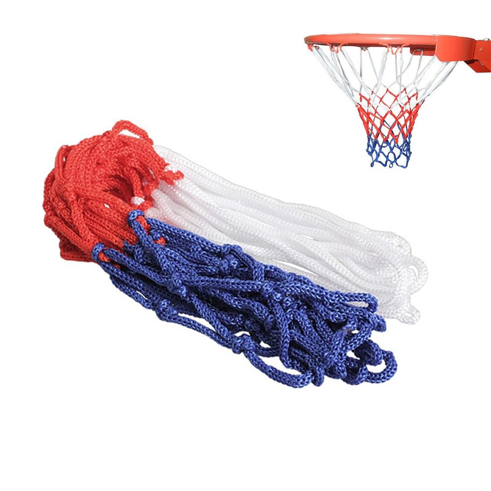 3MM Basketball Rim Mesh Net Durable Basketball Net Heavy Duty Nylon Net Hoop Goal Rim Mesh Fits Standard Basketball Rims