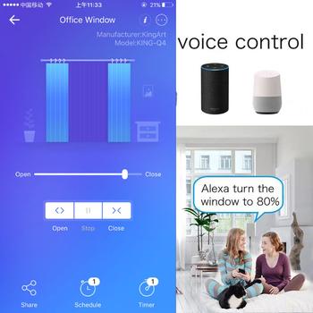 Alexa WiFi inteligentny przełącznik rolety do rolety elektryczne rolety z napędem elektrycznym sterowanie głosem Alexa Google Home EU US tanie i dobre opinie CN (pochodzenie)
