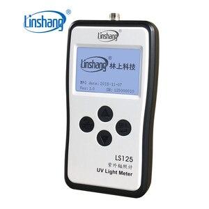 Linshang LS125 УФ-светильник, измеритель ультрафиолетовой мощности, интенсивность УФ-излучения, энергия для 365Nm 395Nm UVA светодиодный UVB UVC водонепроницаемый датчик