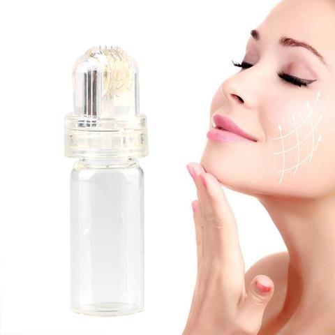 Dr.pen 64 Pin Micro Needle Titanium needle Hydra Roller Hyaluronic Acid Anti Wrinkle Acne Reduce Pore Tighten Whiten Skin Care Islamabad