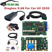 Dourado completo chips lexia 3 921815c nova diagbox v9.68 v7.83 lexia3 pp2000 v48/v25 Lexia-3 para citroen/peugeot ferramenta de diagnóstico do carro