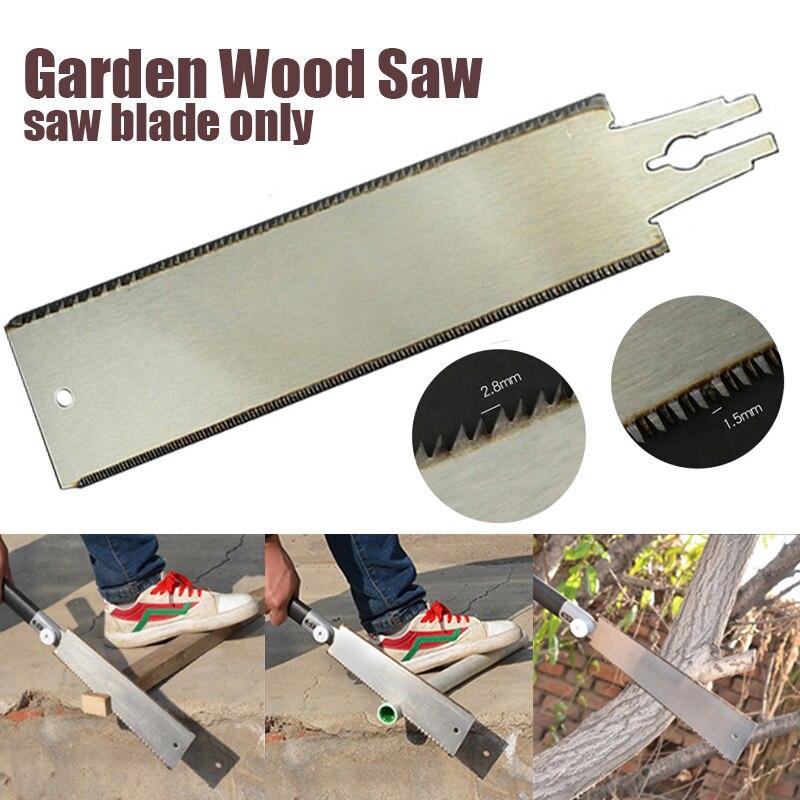 Lâmina de serra com borda dupla, ferramenta de serra japonesa para poda de árvores frutas e carpintaria