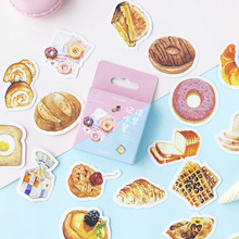 Mohamm 46Pcs Remember To Eat Breakfast Decoration Sticker Paper Creative Scrapbooking Stationary School Supplies