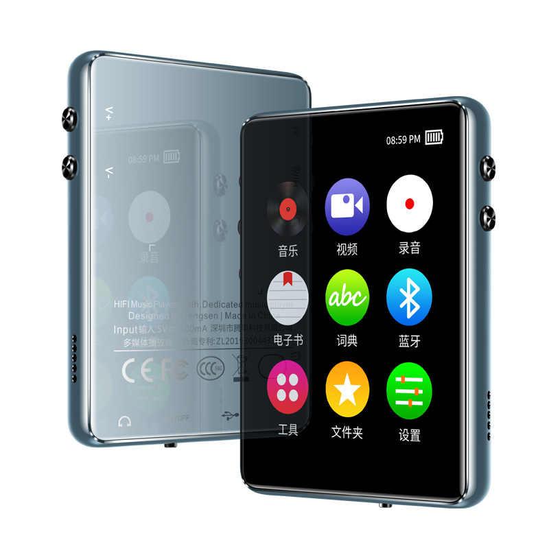 بلوتوث 5.0 MP4 لاعب 8G 16G 32G 64G 2.4 بوصة شاشة تعمل باللمس كامل راديو FM تسجيل الكتاب الإلكتروني الموسيقى مشغل فيديو المدمج في مكبر الصوت