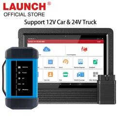 Launch X431 V+ X431 HD heavy duty Bluetooth/wifi 12V/24V truck Full system diagnostic tool X431 V plus X431 HDIII update online
