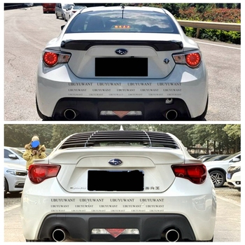 UBUYUWANT High Quality CARBON FIEBER/FRP Spoiler For GT 86 BRZ Rear Trunk wing spoiler For Subaru BRZ Toyota 86 GT86 2013-1019 image