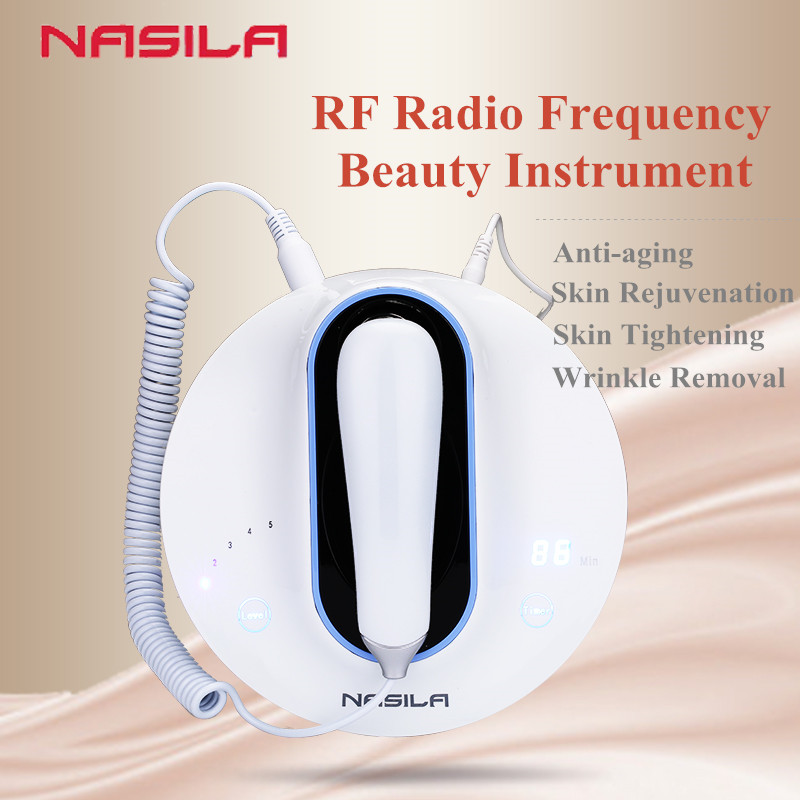 Bipolar Home Use RF Radio Frequency Beauty Machine Facial Care Device Wrinkle Fine Line Removal Sagging Skin Tightening Lifting
