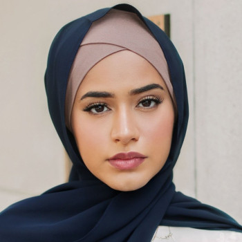 Forehead Cross Muslim Inner Hijabs Islamic Hijab Modest Fashion Women's Fashion