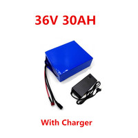 36v 30ah 18650 llithium battery for mobility scooter 36 volt electric bicycle batteria for Bafang/Tongsheng 500W 750W 1000W