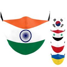 Flag-Masks Ukraine-Poland Mouth-Cover Washable Adult Women Fashion Print for India Outdoor
