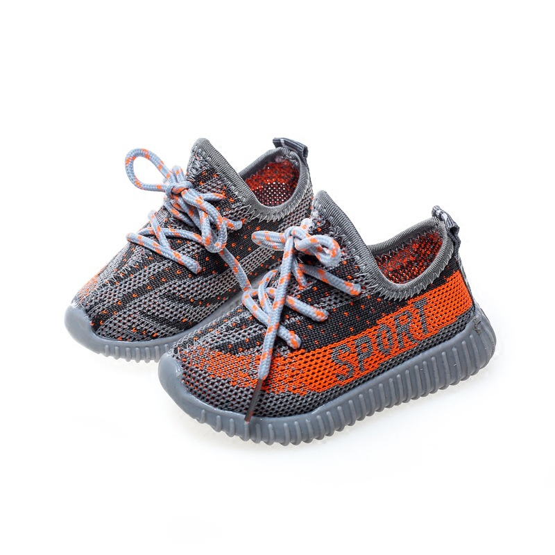2020 Spring Baby Shoes Boy Girl Breathable Knitting Mesh Toddler Shoes Fashion Infant Sneakers Soft Comfortable Child Shoes 6