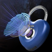 スマートキーレス指紋ロック指紋ロック解除盗難防止セキュリティ南京錠ドア荷物ケースロック