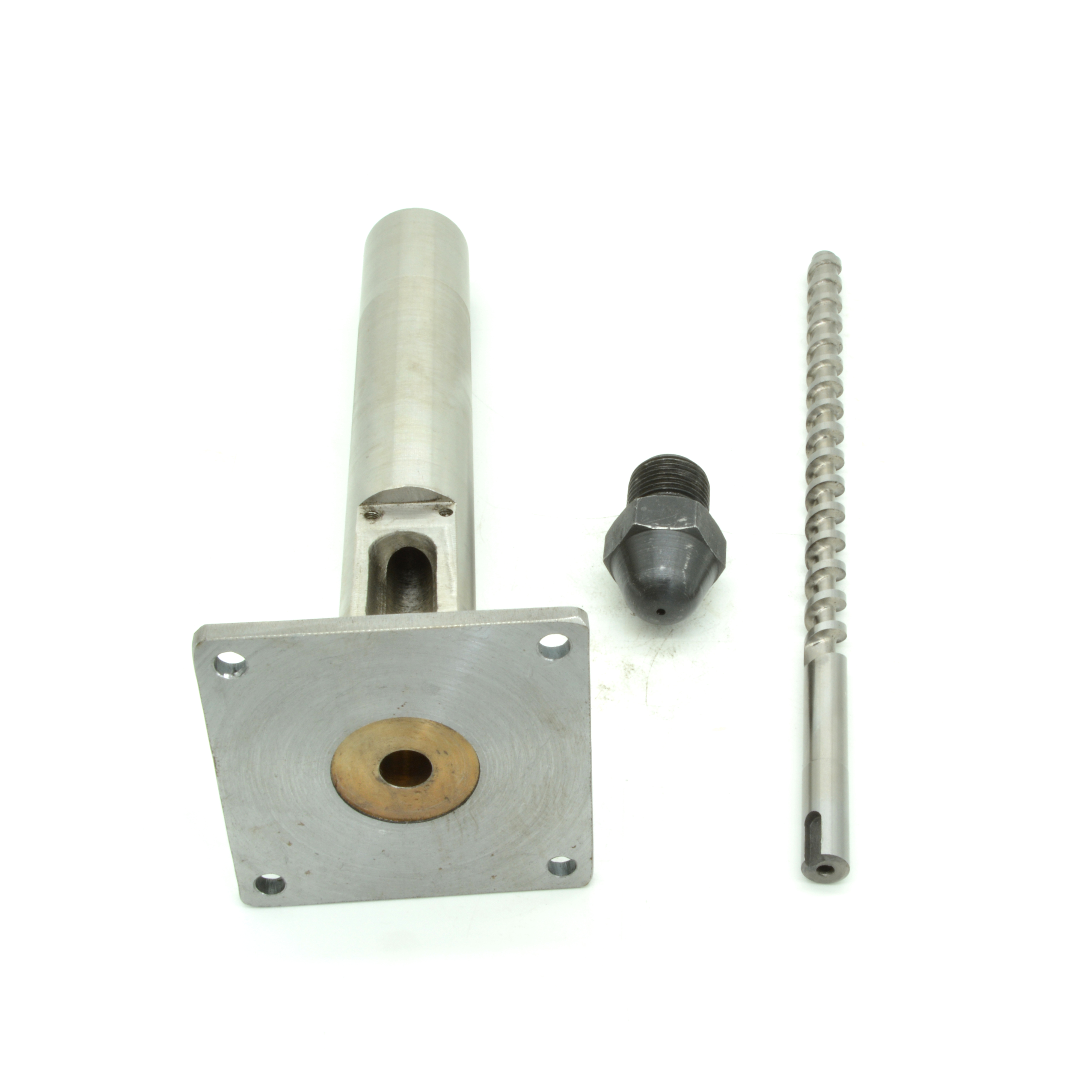 16mm Diameter Extruder Screw, Barrel N Nozzle With Size 56 Or 86mm Flanged