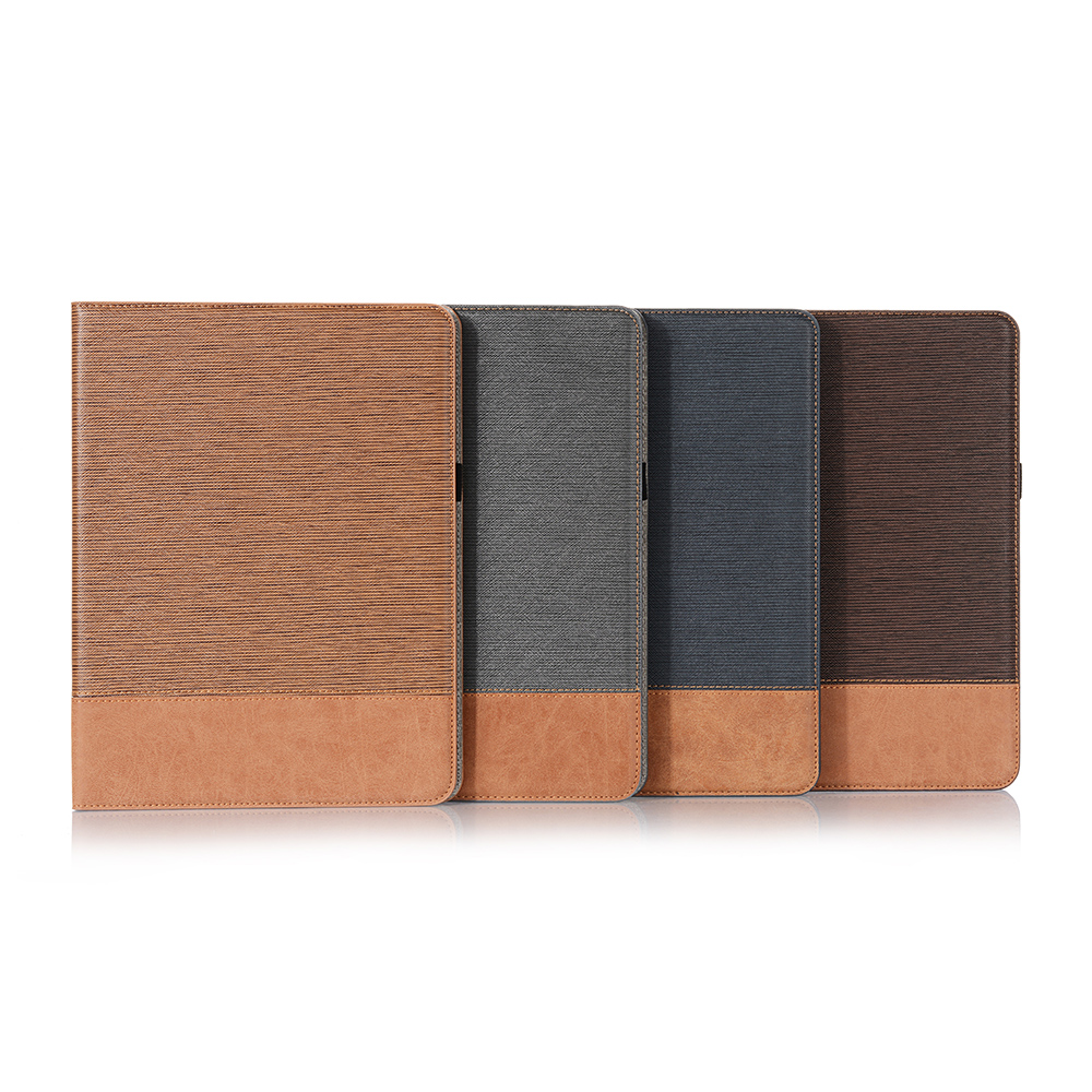 PU 9 iPad Tablet 2020 12 Case Pro Back For Business For iPad Cover Series Pro 2020 Brown