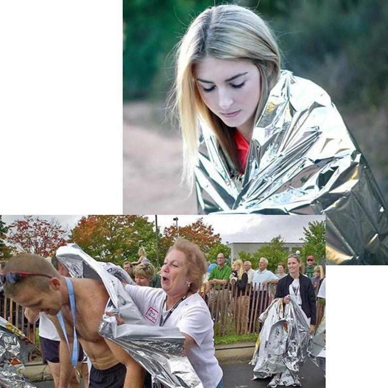 Portable Waterproof Emergency Space Rescue Thermal Mylar Blanket 1.3 x 2.1m|Camping Mat| - AliExpress