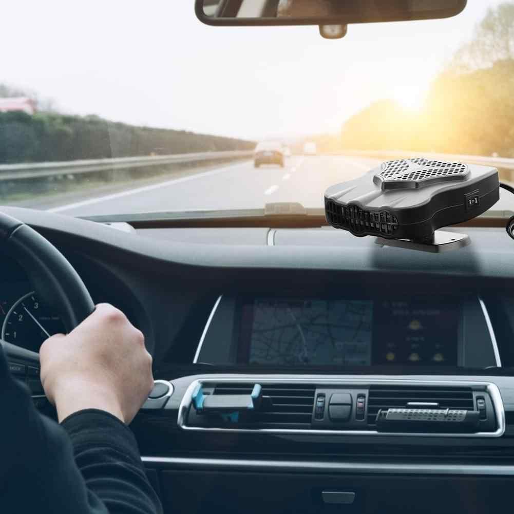 Auto Heizung 150W 12V Tragbare Auto Heizung Anti-beschlag Abtauung Fan Windschutz Fenster Demister Defroster Klimaanlage Auto Heizung