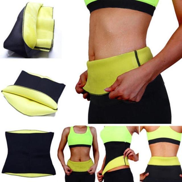 1 Pcs New Sports And Fitness Corsets Body Abdomen Sports Belt Waist Belt Corsets Fitness Ladies Slim Belts Bursting Sweat Belt 1