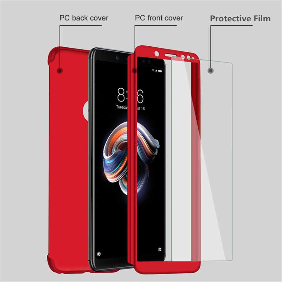 360 PC tam kapak kılıfları Samsung Galaxy A70 A50 A30 kılıfı A60 A40 A20 A20E A10 M30 M20 M10 kılıf kapak koruyucu film