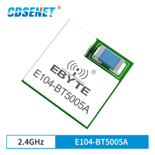 nRF52805 BLE5.0 Wireless Bluetooth Module 2.4GHz Serial Port Receiver Transmitter E104-BT5005A Low-Power iBeacon Transmission