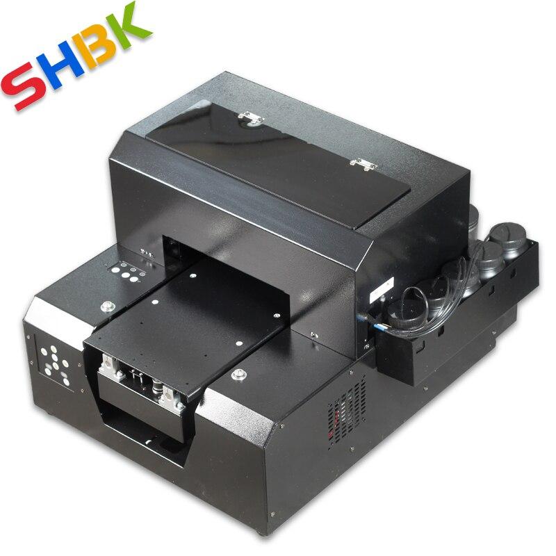 Бесплатная доставка. 2020 новый модернизированный УФ-принтер формата А4 для акрилового, прозрачного пластика, стекла, прозрачного плоского