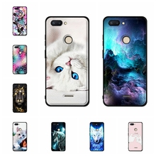 For Xiaomi Redmi 6 Case Ultra Thin Soft TPU Silicone Cover Animal Patterned Leather Capa