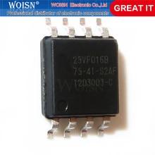 2 pçs/lote SST25VF016B-75-4I-S2AF sst25vf016b 16 mbit spi serial flash sop-8 em estoque