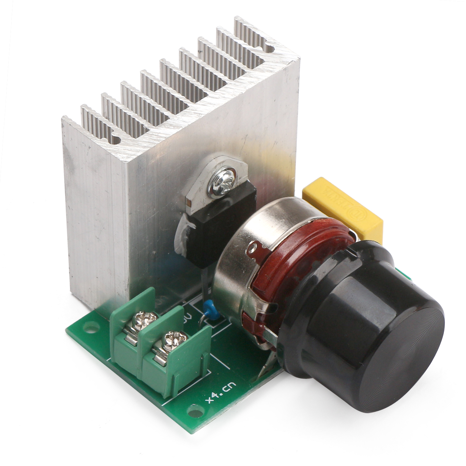 AC 220V 3800W SCR Motor Speed Controller Imported Thyristor Power Electronic Dimmer Voltage Regulator Temperature Silicon Switch(China)