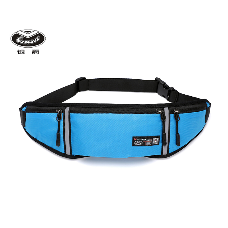 Yinjue Bodypack Sports Fitness Tourism Outdoor Ultra Thin Invisible Waterproof Breathable Certificate Passport Belt Mobile Bag