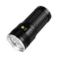 XMLT6 x 7 LED Chips Jagd Wasserdichte Bike Taschenlampe 4X18650 Batterie Taschenlampe Helle Taschenlampe 50000 lumen Fahrrad licht #-in Fahrradlicht aus Sport und Unterhaltung bei