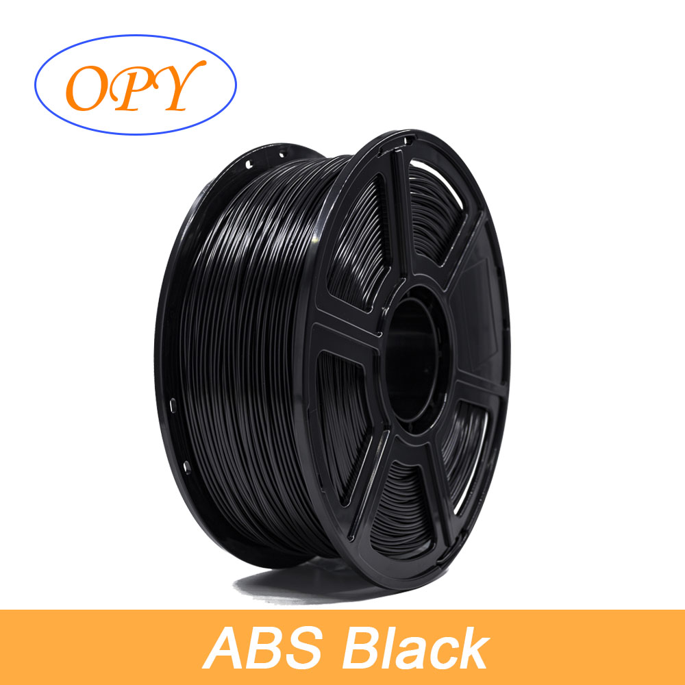 <font><b>ABS</b></font> <font><b>3D</b></font> Printing Filament Fdm Plastic <font><b>1.75</b></font> Mm Violet White Yellow Orange Black Blue Brown Fluorecent Grey Mass Thermal Prototype image
