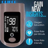 OLIECO plus récent oxymètre de pouls du bout des doigts portable compteur de Saturation d'oxygène du sang maison alarme SPO2 PR Momitor 6 Modes affichage LCD
