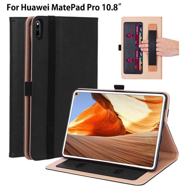 Étui pour huawei de luxe Matepad Pro 10.8 MRX-W09 couverture de MRX-AL09 Funda tablette support de main