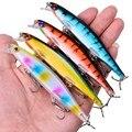 1 шт. 110 мм 13 г плавающие приманки для ловли окуня  рыболовные приманки плавающий воблер  жесткая наживка-гольян  приманка для рыболовные снас...