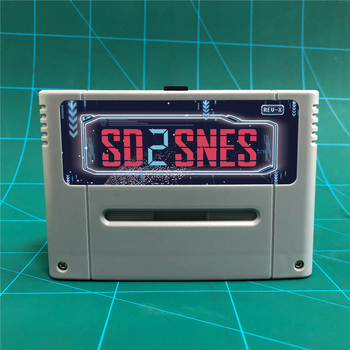 O mais novo sd2snes rev x versão pro diy 1200 em 1 cartucho de jogo para 16 bits game console 1
