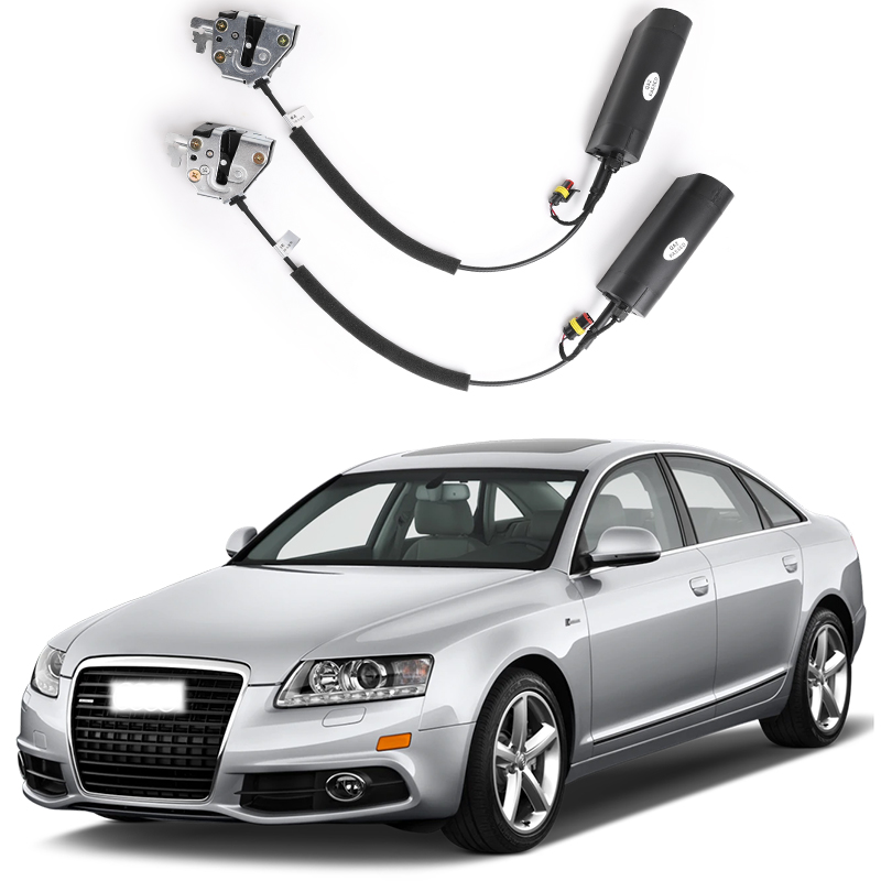 For Audi A6 Electric Suction Door Automobile Refitted Automatic Locks Car Accessories Intelligence Suction Door